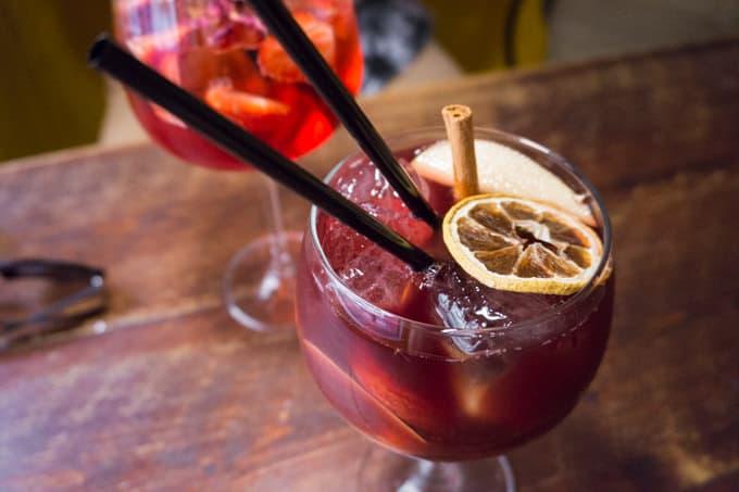 Bar-Celoneta - vegan sangria