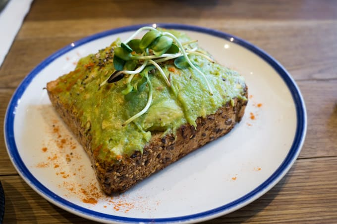 Flax & Kale - vegan avocado toast