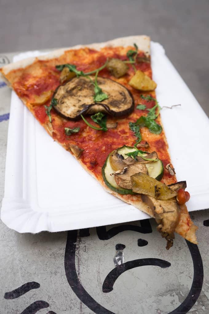 La Mezcla - Barcelona - vegan pizza