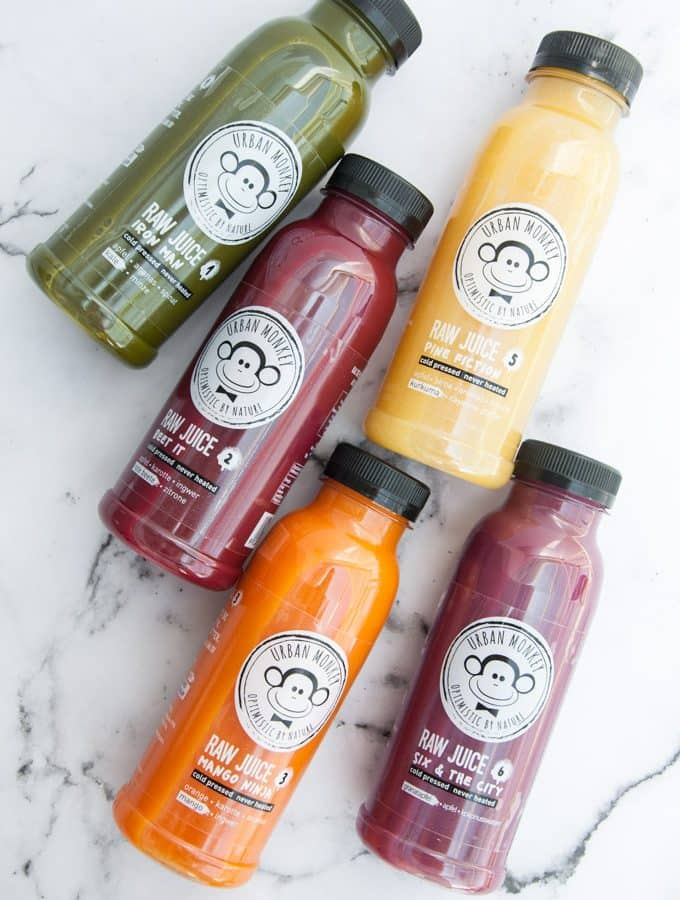 Post Vacay-Juice Cleanse with Urban Monkey
