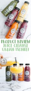 Urban Monkey Juice Cleanse | ElephantasticVegan.com