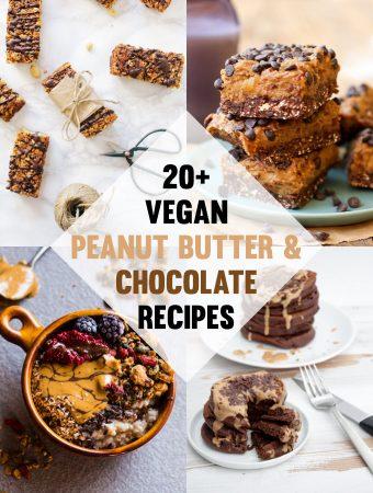 Vegan Chocolate and Peanut Butter Recipes   ElephantasticVegan.com