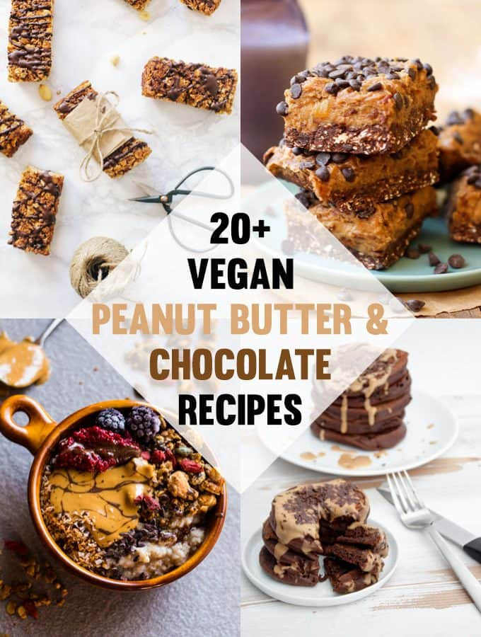 Vegan Chocolate and Peanut Butter Recipes | ElephantasticVegan.com