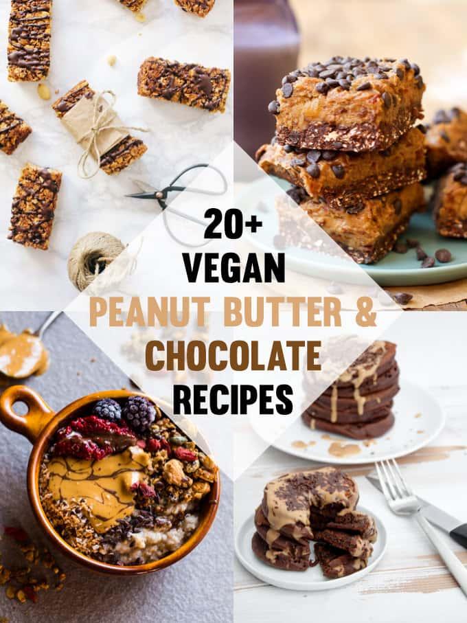 Vegan Chocolate and Peanut Butter Recipes | ElephantasticVegan.com