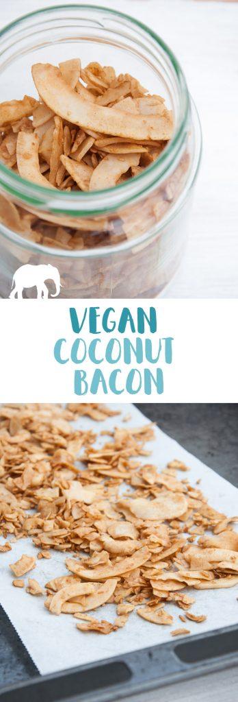 Vegan Coconut Bacon | ElephantasticVegan.com