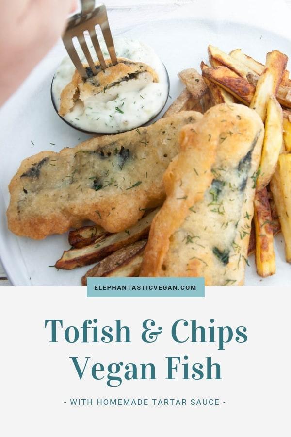 Tofish & Chips Vegan Fish