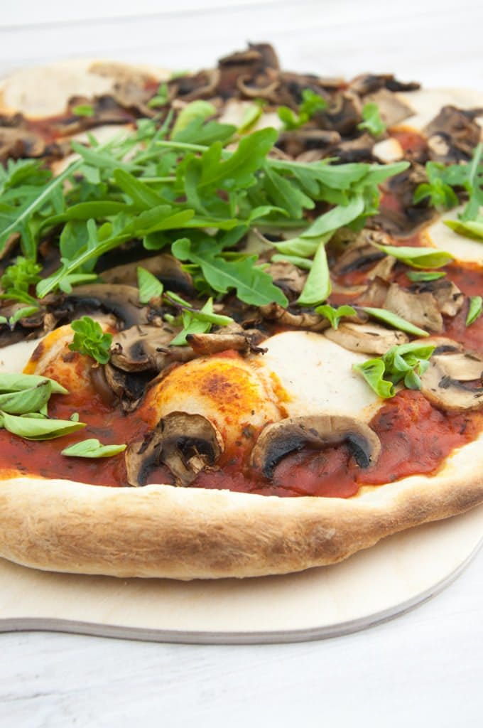 Yeast-Free Vegan Pizza Dough