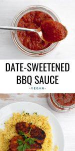 Date-Sweetened BBQ sauce