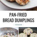 Pan-Fried Bread Dumplings