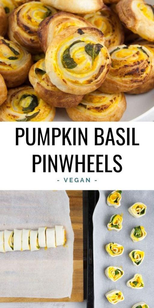 Pumpkin Basil Pinwheels
