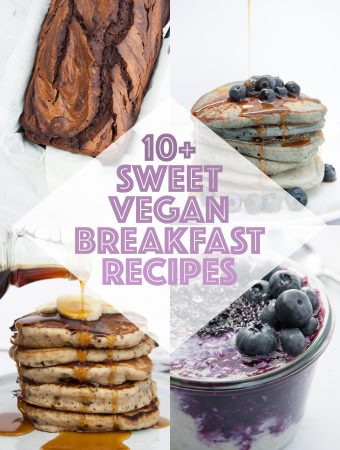 Sweet Vegan Breakfast Recipes | ElephantasticVegan.com