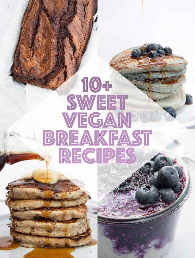 Sweet Vegan Breakfast Recipes | ElephantasticVegan.com