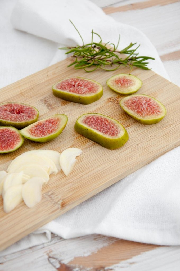 Figs, rosemary and garlic