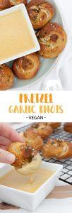 Vegan Pretzel Garlic Knots | ElephantasticVegan.com