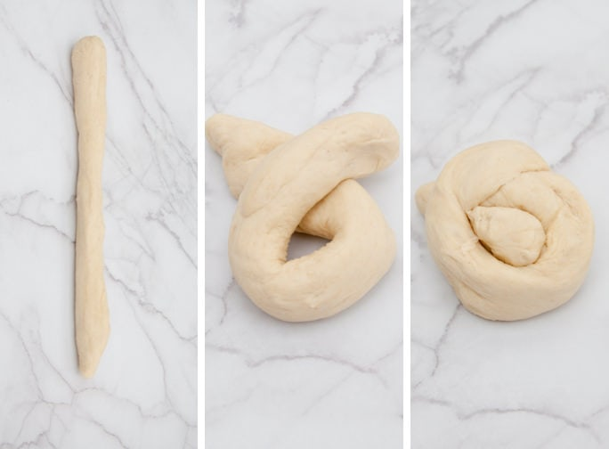 How to fold Pretzel Knots