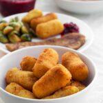 Vegan Potato Croquettes | ElephantasticVegan.com