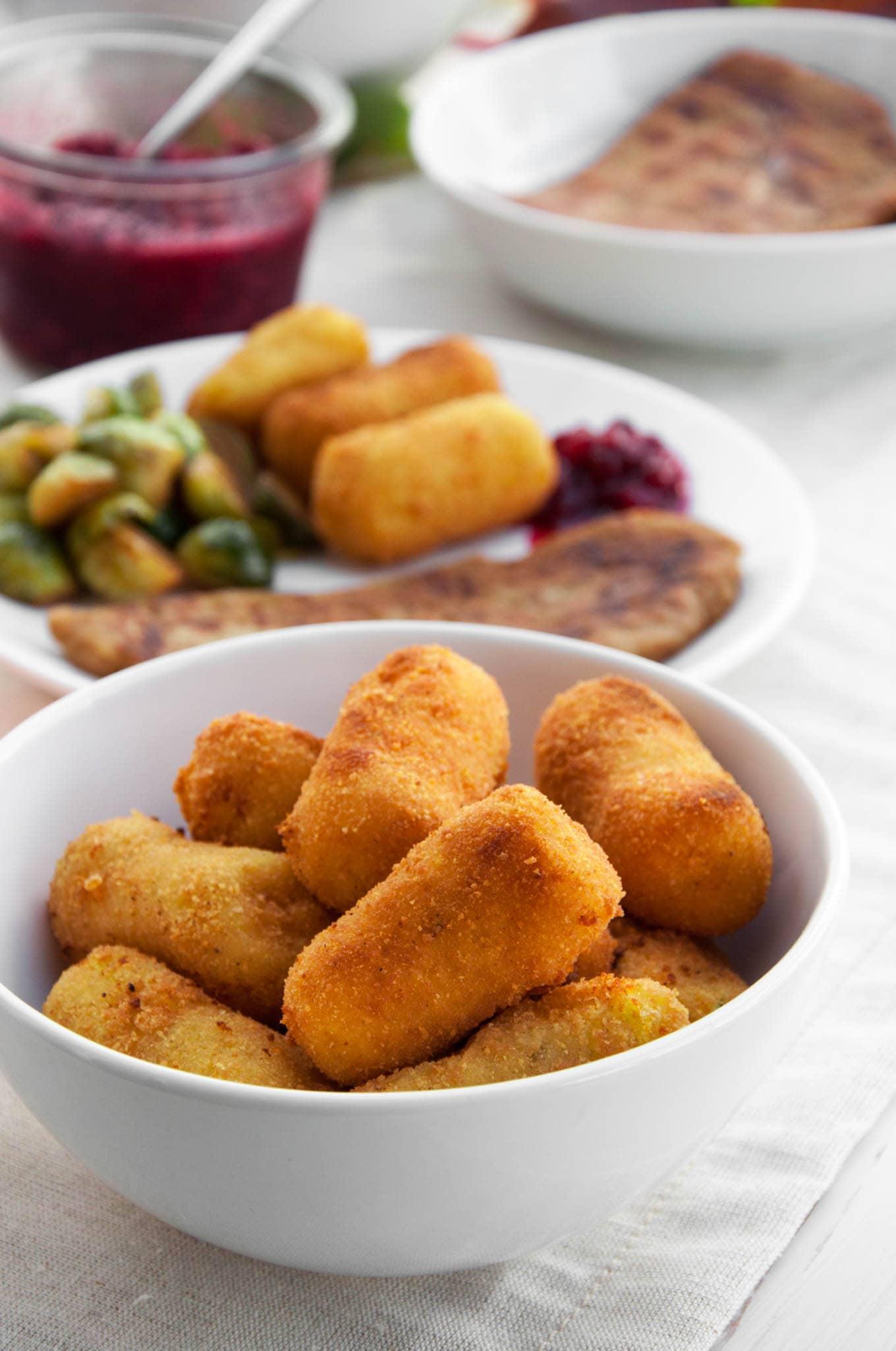 Vegan Potato Croquettes   ElephantasticVegan.com
