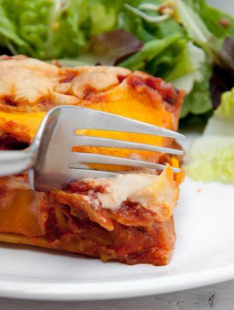 Vegan Pumpkin Lasagne with Cashew Cheese |ElephantasticVegan.com