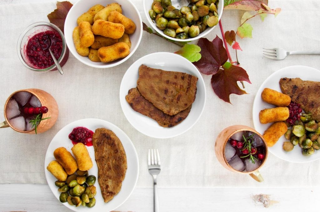Vegan Thanksgiving Menu | ElephantasticVegan.com