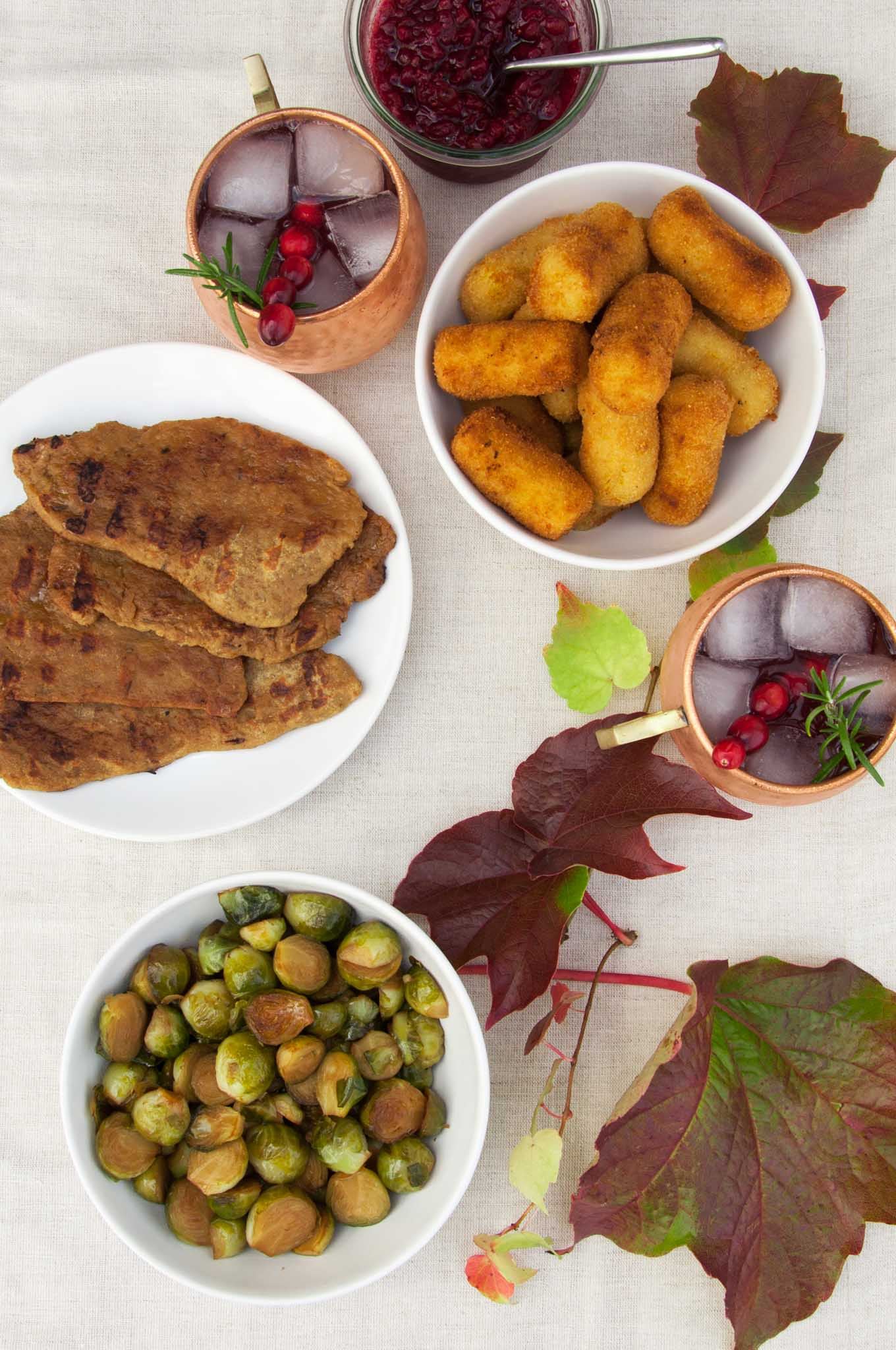 Vegan Thanksgiving Menu | ElephantasticVegan.com
