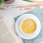 Cough-Soothing Golden Milk and a good book are the perfect cough remedies