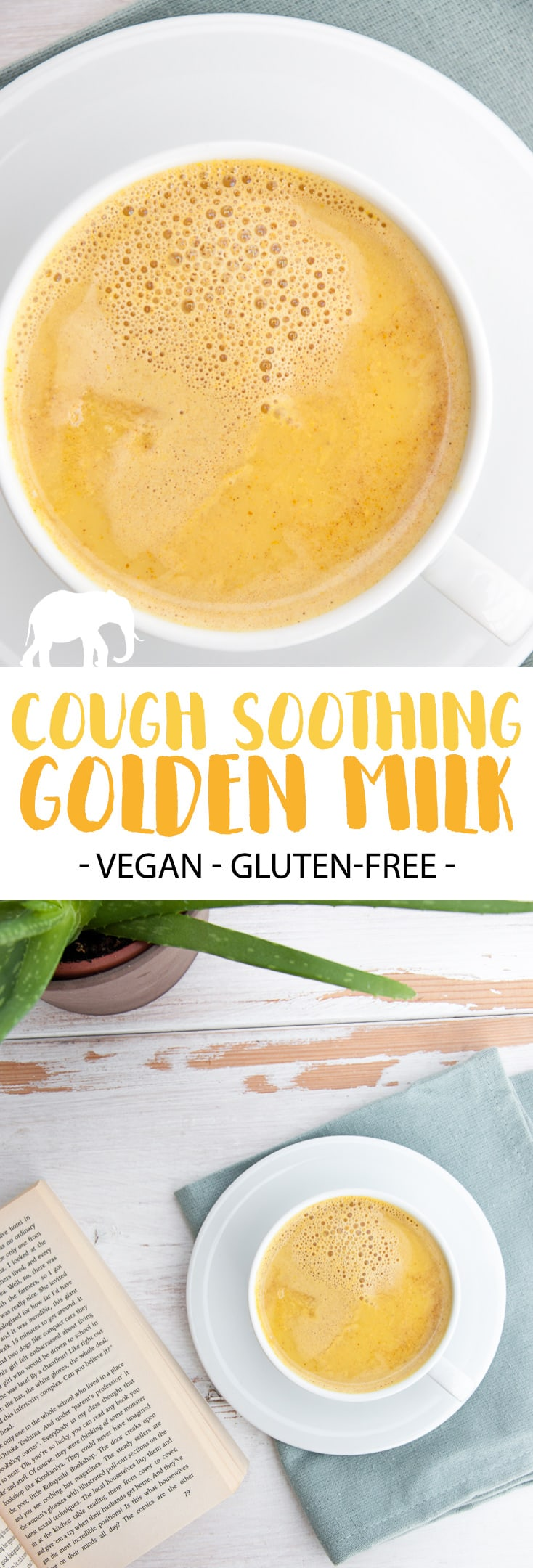 Cough soothing golden milk elephantastic vegan my favorite cough remedies are golden milk and a good book youve got forumfinder Choice Image