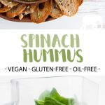 Oil-Free Spinach Hummus