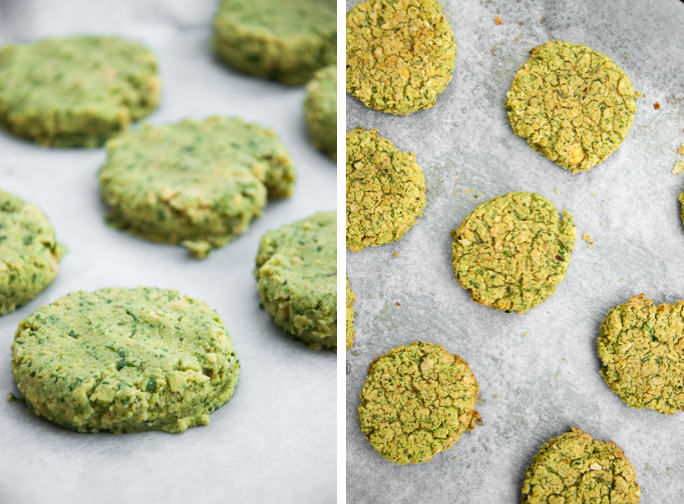 Spinach Falafel (vegan and gluten-free)