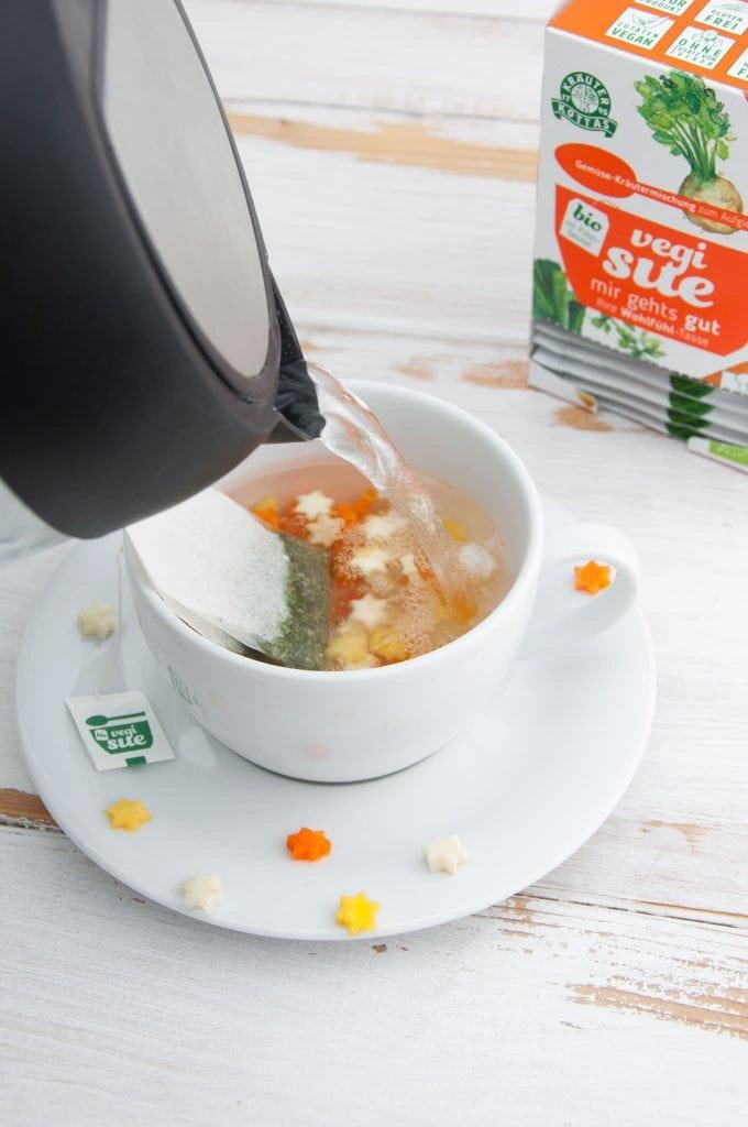 Vegane Gemüse Sternchen Suppe