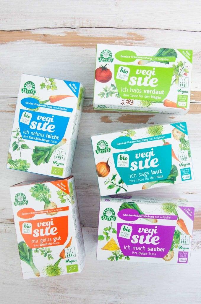 Vegie Sue - Gemüse-Kräutermischung zum Aufgießen