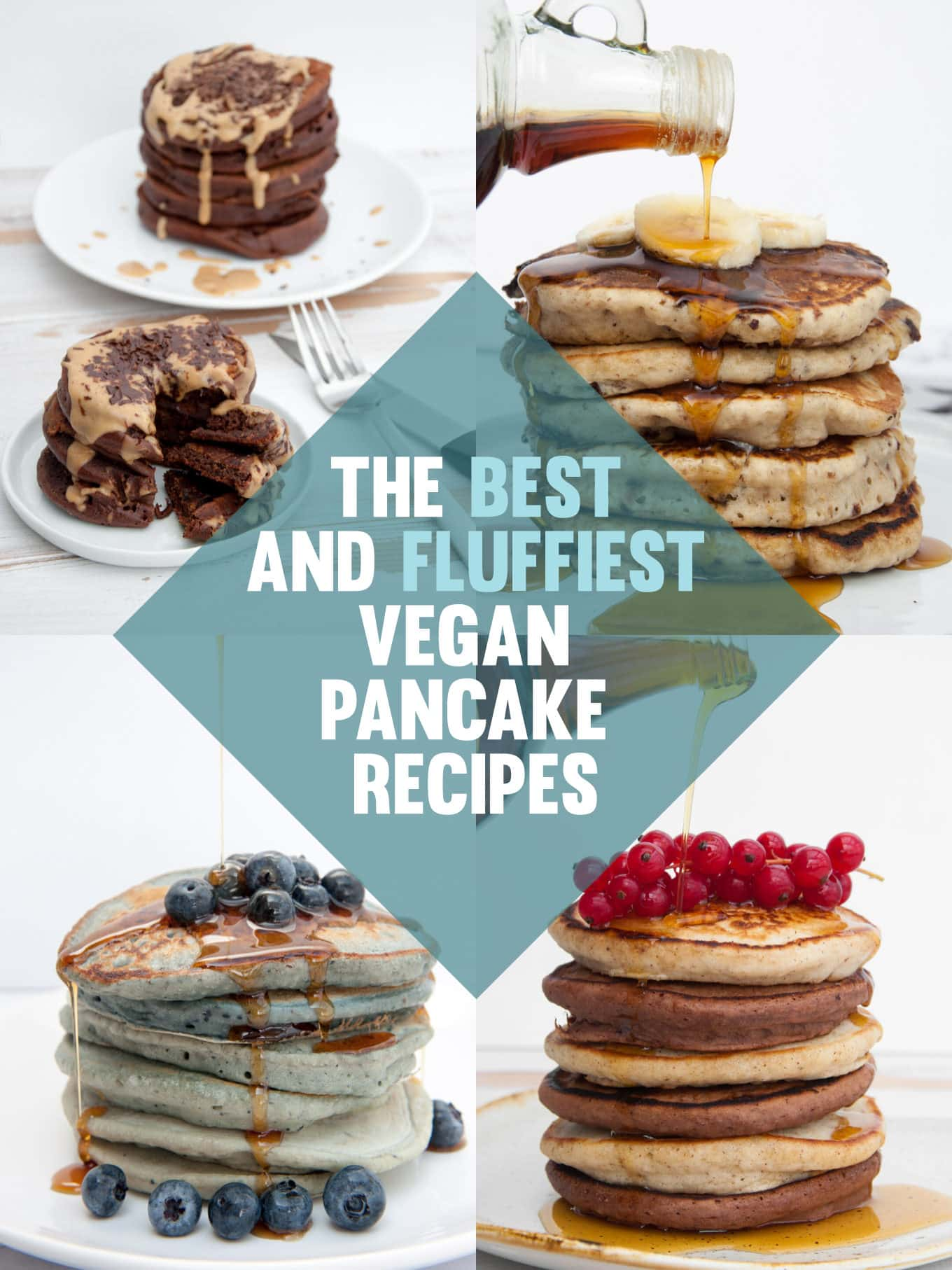 The best and fluffiest Vegan Pancake Recipes