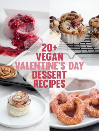 Vegan Valentine's Day Dessert Recipes