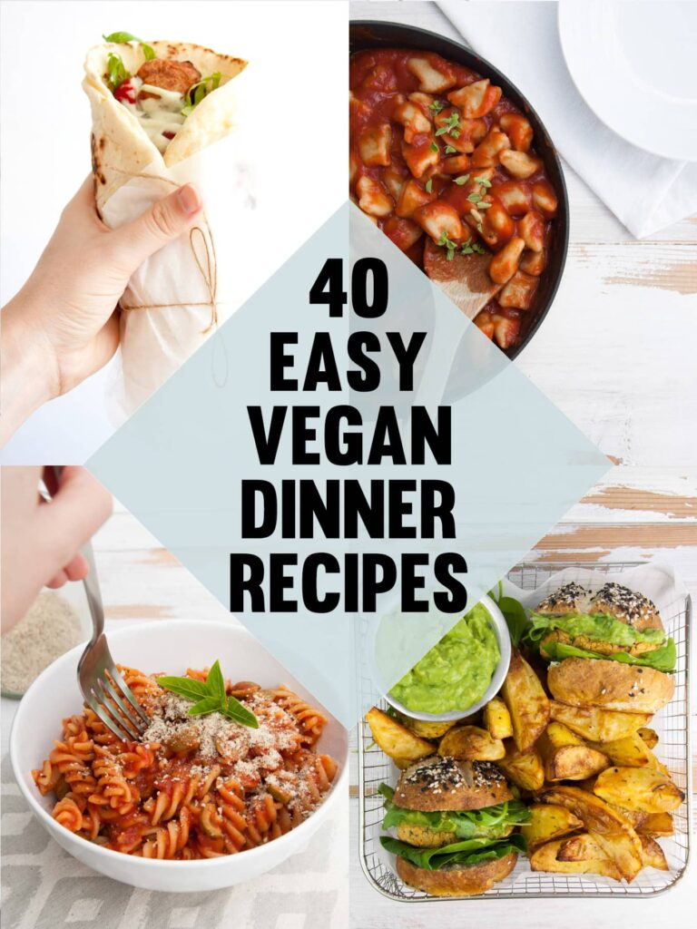 40 easy vegan dinner recipes elephantastic vegan recipes forumfinder Choice Image