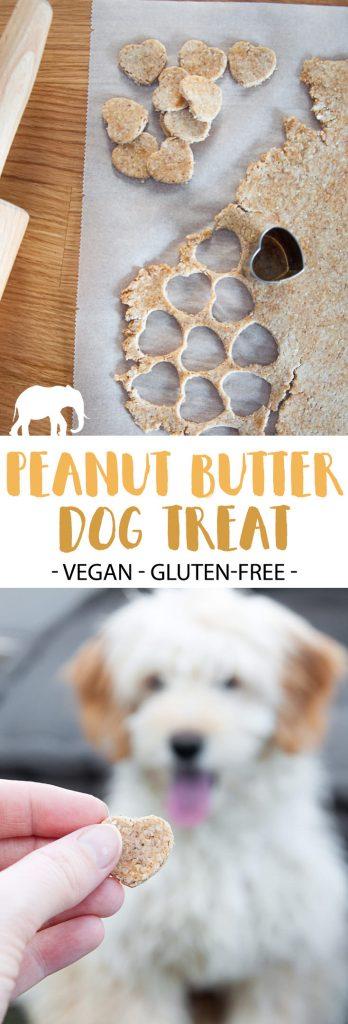 Peanut Butter Dog Treat