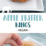 Vegan Apple Fritter Rings