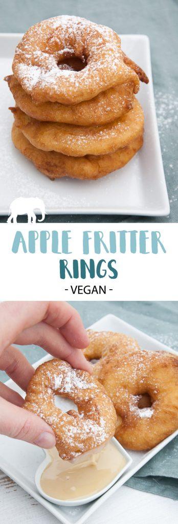 Vegan Apple Fritter Rings