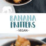 Vegan Banana Fritters