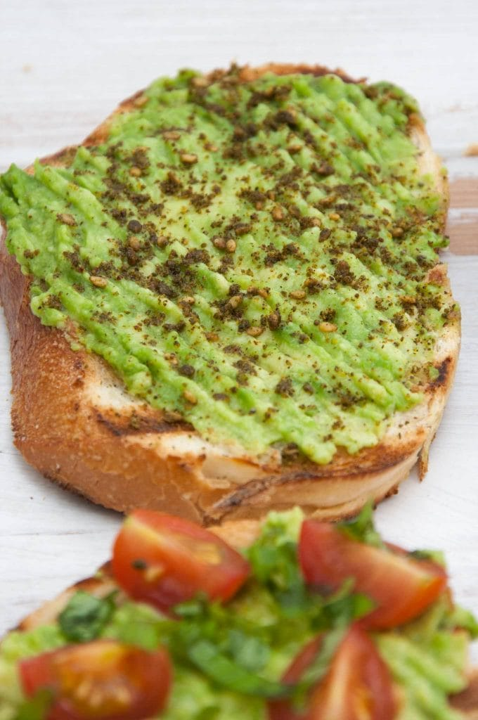 Avocado Toast with Za'atar