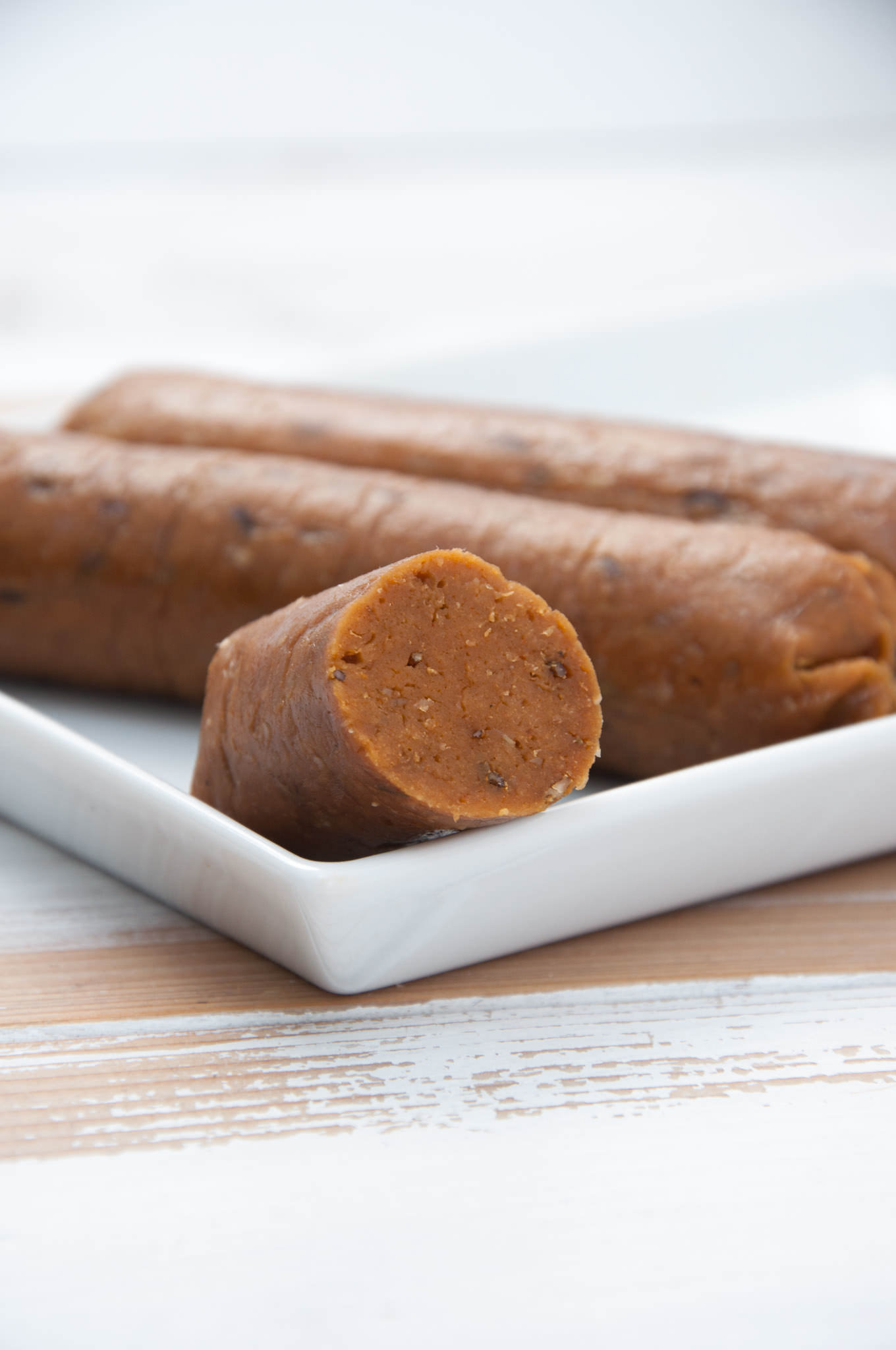 Homemade Vegan Sausages