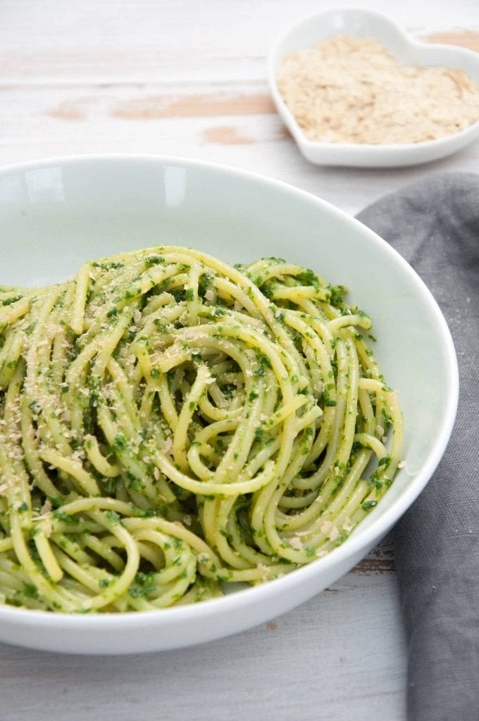 15-Minute Wild Garlic Pasta