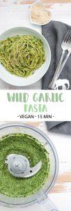 15-Minute Wild Garlic Pasta