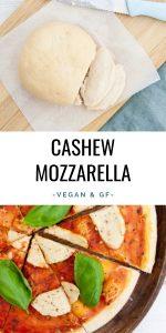 Vegan Cashew Mozzarella