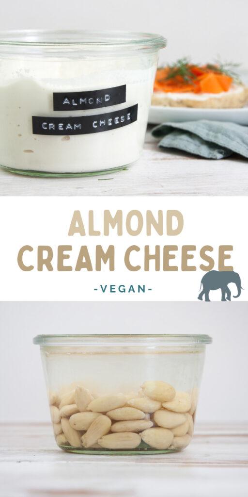 Vegan Almond Cream Cheese