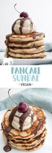 Vegan Pancake Sundae