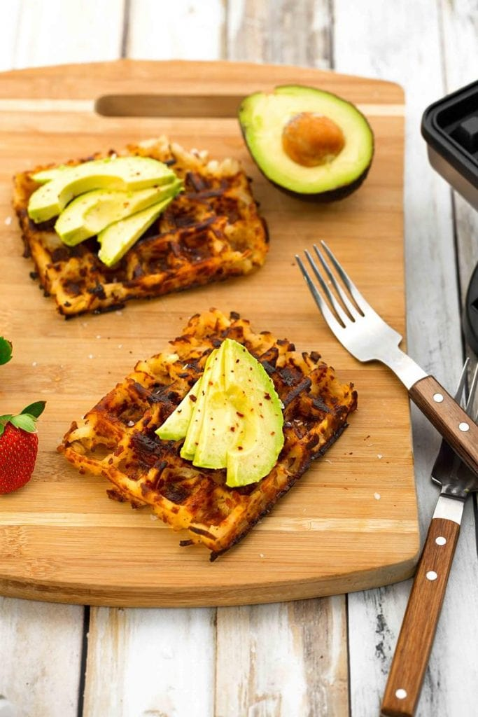 Vegan Hashbrown Waffles