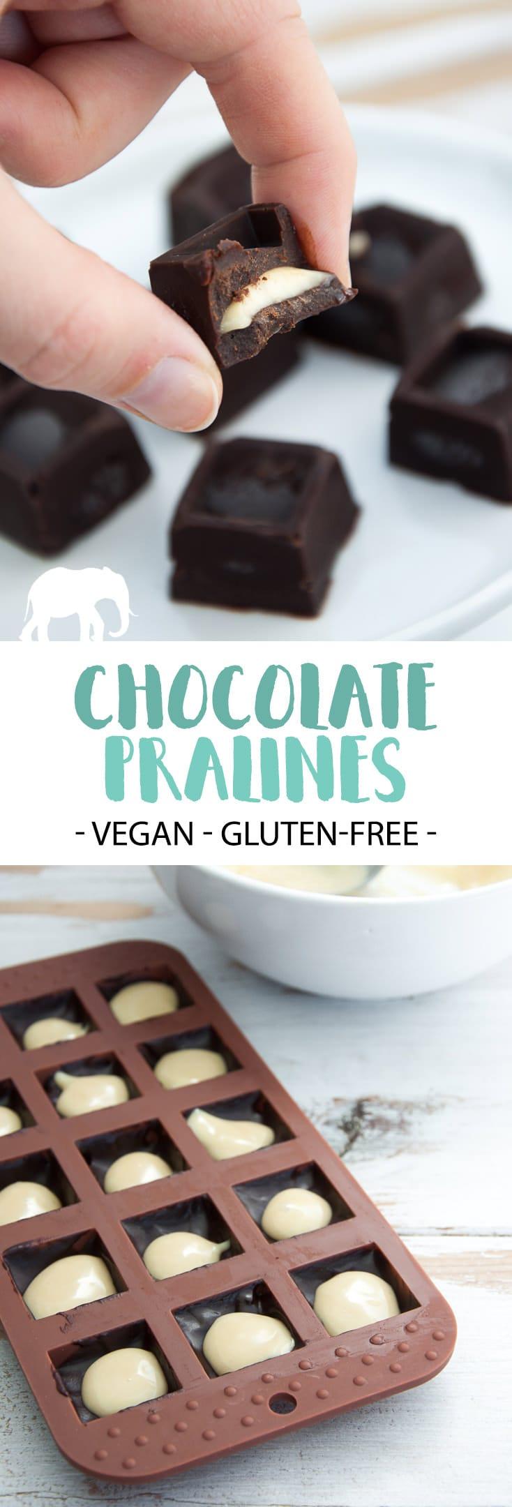 Vegan Chocolate Pralines