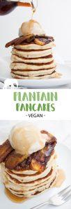 Vegan Plantain Pancakes
