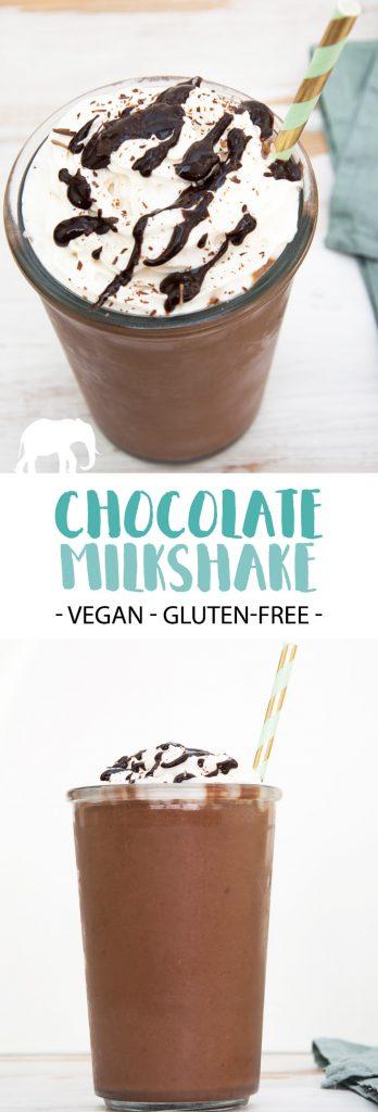Vegan Chocolate Milkshake