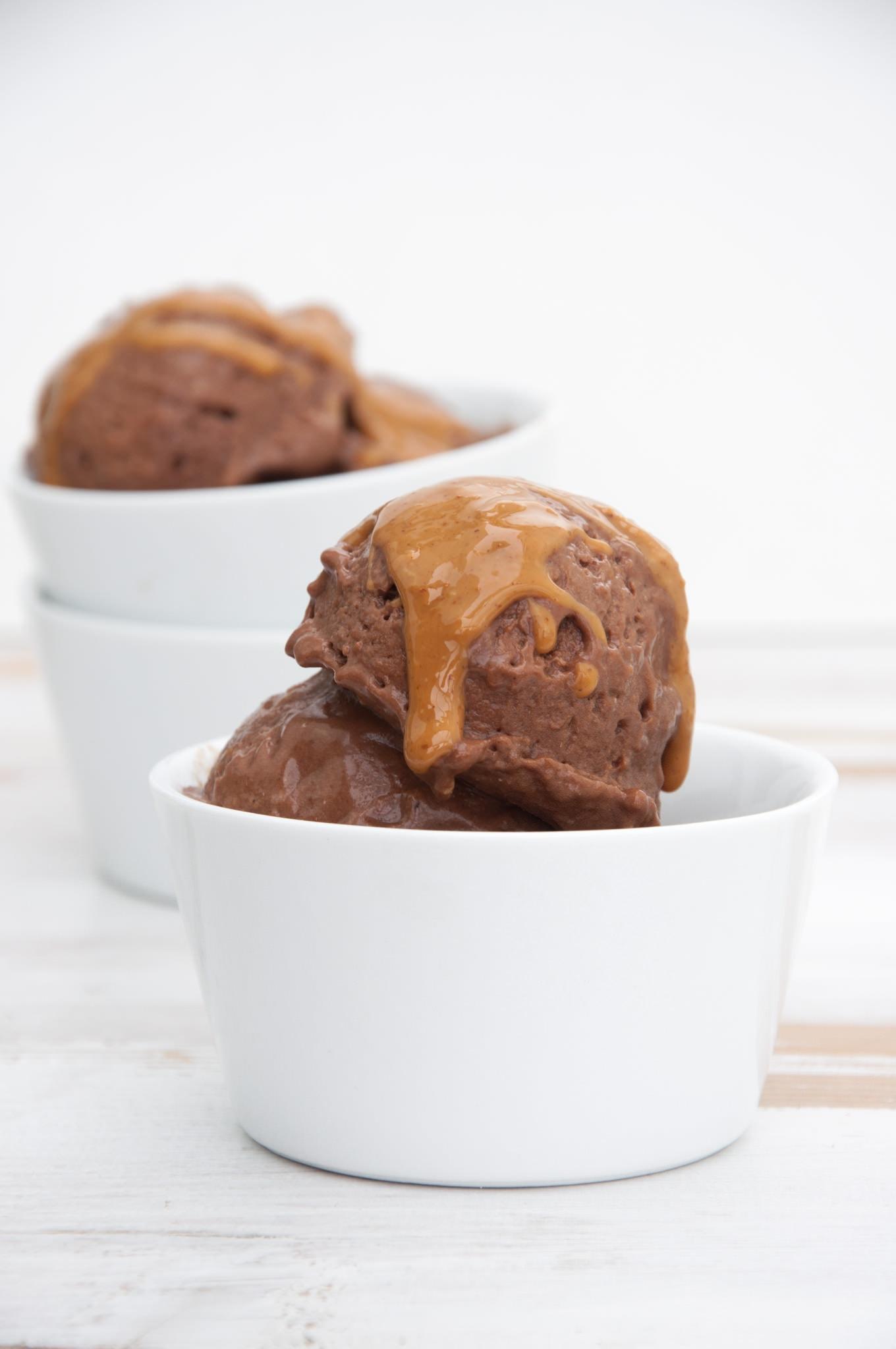 Vegan Chocolate Peanut Butter Ice Cream