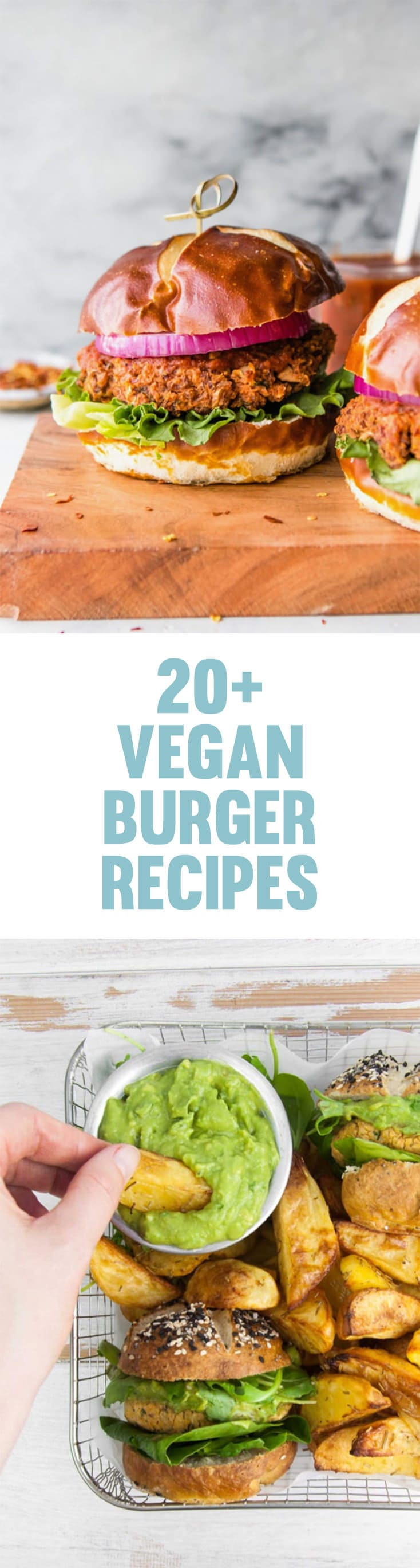 You'll love these Vegan Burgers! Including Copycat In-N-Out Burger, Grilled Huli-Huli Burger, Falafel Burger, Vegan Fish Burger and many more! | ElephantasticVegan.com #vegan #burger #recipes